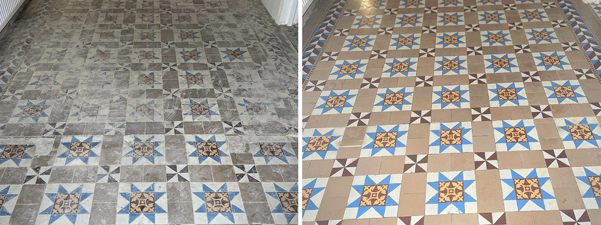 Removing Carpet Adhesive from a Victorian Hallway Floor in Canterbury